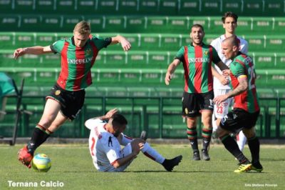 Serie C, Ternana-Monza 0-1: -